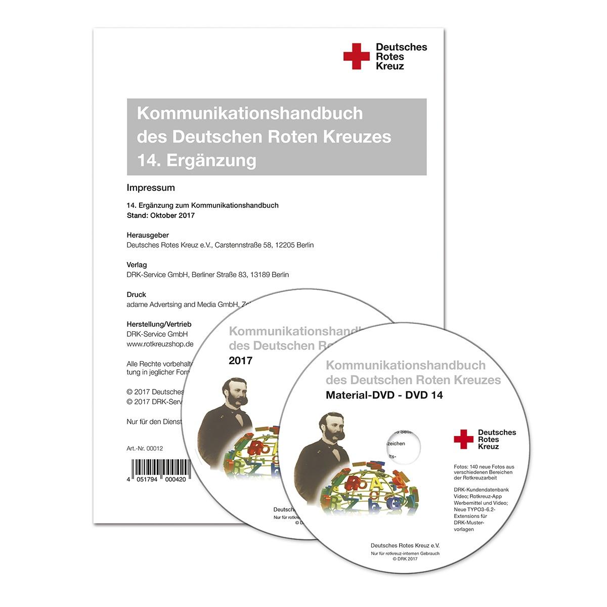 Kommunikationshandbuch, 14. Ergänzung (Abo) - rotkreuzshop.de