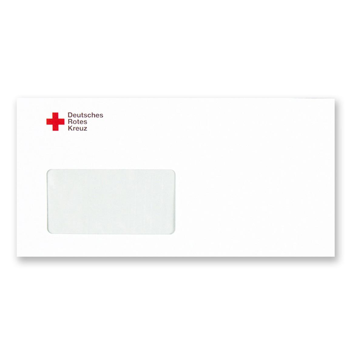 Briefumschlag Mit Fenster Din Lang Plus Maschinenkuvertierbar Ve