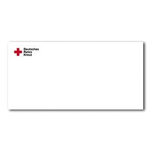 Briefbogen Mit Drk Langlogo Din A4 Ve 1000 Stück Rotkreuzshopde